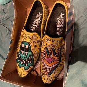 Jeremy Scott x Adidas Shoes - Unisex Men's Jeremy Scott X Kenny Scharf slip ons